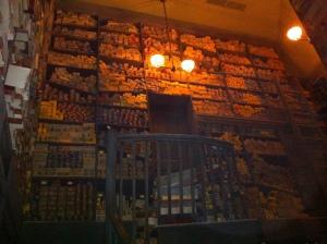 Inside Ollivander's Wandshop