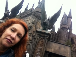 Magical writing on the column beckoning you into The Castle